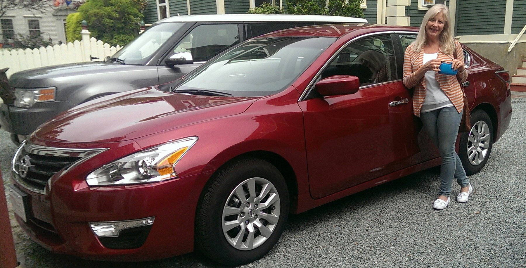 Nissan Altima, at Newport RI